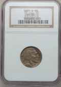 Buffalo Nickels: , 1921-S 5C VF30 NGC. NGC Census: (56/420). PCGS Population (62/652).Mintage: 1,557,000. Numismedia Wsl. Price for problem f...