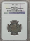 Half Cents, 1808 1/2 C -- Corrosion, Improperly Cleaned -- NGC Details. AU.C-3. NGC Census: (5/27). PCGS Population (7/41). Mintage: 4...