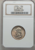 Washington Quarters, 1934 25C Medium Motto MS66 NGC and a 1935 25C MS66 NGC. ... (Total:2 coins)