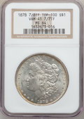 Morgan Dollars: , 1878 7/8TF $1 Strong MS64 NGC. VAM-41. 7/7TF. Top-100. NGC Census:(1008/93). PCGS Population (1434/235). Mintage: 544,000...