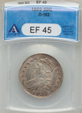 Bust Half Dollars: , 1809 50C Normal Edge XF45 ANACS. O-102. NGC Census: (78/509). PCGSPopulation (85/275). Mintage: 1,405,810. Numismedia Wsl...