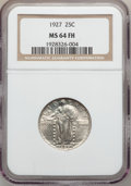 Standing Liberty Quarters: , 1927 25C MS64 Full Head NGC. NGC Census: (173/94). PCGS Population(220/170). Mintage: 11,912,000. Numismedia Wsl. Price fo...