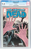 Modern Age (1980-Present):Horror, Walking Dead #51 (Image, 2008) CGC NM/MT 9.8 White pages....