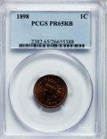 Proof Indian Cents: , 1898 1C PR65 Red and Brown PCGS. PCGS Population (70/17). NGC Census: (62/29). Mintage: 1,795. Numismedia Wsl. Price for pr...