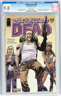 Modern Age (1980-Present):Horror, Walking Dead #53 (Image, 2008) CGC NM/MT 9.8 White pages....