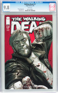 Modern Age (1980-Present):Horror, Walking Dead #17 (Image, 2005) CGC NM/MT 9.8 White pages....