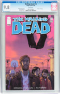 Modern Age (1980-Present):Horror, Walking Dead #18 (Image, 2005) CGC NM/MT 9.8 White pages....