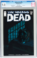 Modern Age (1980-Present):Horror, Walking Dead #20 (Image, 2005) CGC NM/MT 9.8 White pages....