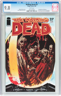 Walking Dead #27 (Image, 2006) CGC NM/MT 9.8 White pages
