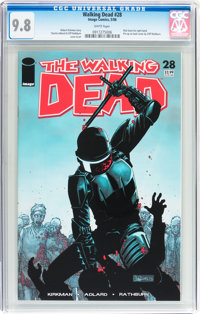 Walking Dead #28 (Image, 2006) CGC NM/MT 9.8 White pages