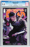 Modern Age (1980-Present):Horror, Walking Dead #32 (Image, 2006) CGC NM/MT 9.8 White pages....