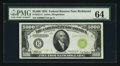 Small Size:Federal Reserve Notes, Fr. 2221-E $5000 1934 Federal Reserve Note. PMG Choice Uncirculated64.. ...