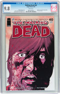 Modern Age (1980-Present):Horror, Walking Dead #40 (Image, 2007) CGC NM/MT 9.8 White pages....