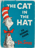 Books:Children's Books, Dr. Seuss. The Cat in the Hat. New York: Random House,[1957]. First edition....