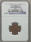 Civil War Merchants, 1863 D.W. Gage War Claim Agent, Cleveland, OH -- Bent -- NGCDetails. AU. Fuld-OH175C-3a. Incorrectly attributed by NGC asFul...