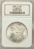 Morgan Dollars: , 1885-O $1 MS64 NGC. NGC Census: (80025/31013). PCGS Population(63549/19932). Mintage: 9,185,000. Numismedia Wsl. Price for...