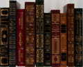 Books:Literature 1900-up, [Literature]. Bradbury, Twain, Rand, and Others. Group of Ten Booksin Publisher's Leather, Nine by Easton Press. Some with ... (Total:10 Items)