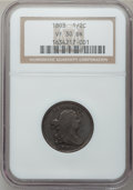 Half Cents: , 1803 1/2 C VF30 NGC. NGC Census: (10/88). PCGS Population (25/116).Mintage: 92,000. Numismedia Wsl. Price for problem free...
