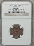 Civil War Merchants, 1863 C.B. Bruce War Claim Agent, Cleveland, OH, XF45 NGC.Fuld-OH175C-7a. Incorrectly attributed by NGC as Fuld-175G-1a....