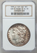 Morgan Dollars, 1899-O $1 Micro O AU55 NGC. VAM-5. Top 100. PCGS Population(22/14)....