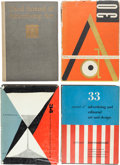 Books:Art & Architecture, [Photography and Art]. Annual of Advertising Art. New York: Art Directors Club of New York, [1924-1966]. First editi... (Total: 40 Items)