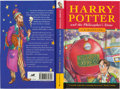 Books:Children's Books, J. K. Rowling. Harry Potter and the Philosopher's Stone. London: Bloomsbury, [1997]. First edition, first issue (wit...