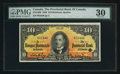 Canadian Currency: , Montreal, PQ - The Provincial Bank of Canada $10 Sep. 1, 1936 Ch. #615-18-06. ...