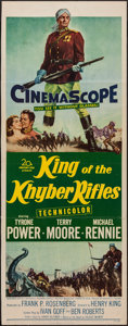 "Movie Posters:Adventure, King of the Khyber Rifles (20th Century Fox, 1954). Insert (14"" X36""). Adventure.. ..."