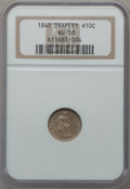 Seated Half Dimes: , 1840 H10C Drapery AU58 NGC. NGC Census: (4/46). PCGS Population(5/43). Mintage: 310,085. Numismedia Wsl. Price for problem...