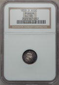 Seated Half Dimes: , 1859-O H10C AU58 NGC. Ex: Benson. NGC Census: (8/85). PCGSPopulation (14/61). Mintage: 560,000. Numismedia Wsl. Price for ...