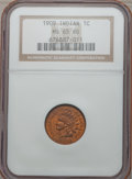 Indian Cents: , 1909 1C MS65 Red NGC. NGC Census: (253/31). PCGS Population(614/158). Mintage: 14,370,645. Numismedia Wsl. Price for probl...