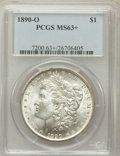 Morgan Dollars, 1890-O $1 MS63+ PCGS. PCGS Population (3942/3782). NGC Census:(3316/2920). Mintage: 10,701,000. Numismedia Wsl. Price for ...