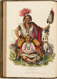 Thomas L. M'Kenney [McKenney] and James Hall. History of the Indian Tribes of North America