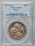 Commemorative Silver: , 1935/34-D 50C Boone MS65 PCGS. PCGS Population (242/235). NGCCensus: (157/177). Mintage: 2,003. Numismedia Wsl. Price for ...