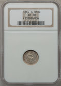 Seated Half Dimes: , 1864-S H10C AU58 NGC. NGC Census: (7/29). PCGS Population (2/23).Mintage: 90,000. Numismedia Wsl. Price for problem free N...