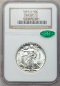 Walking Liberty Half Dollars: , 1943-D 50C MS67 NGC. CAC. NGC Census: (301/4). PCGS Population(256/2). Mintage: 11,346,000. Numismedia Wsl. Price for prob...