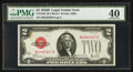 Small Size:Legal Tender Notes, Fr. 1503 $2 1928B Legal Tender Note. PMG Extremely Fine 40.. ...
