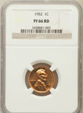Proof Lincoln Cents: , 1952 1C PR66 Red NGC. NGC Census: (252/370). PCGS Population(409/138). Mintage: 81,980. Numismedia Wsl. Price for problem ...