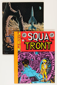 Squa Tront #1 and #3 Fanzine Group (Jerry Weist, 1969).... (Total: 2 Items)