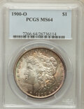 Morgan Dollars: , 1900-O $1 MS64 PCGS. PCGS Population (16173/6752). NGC Census:(18215/7597). Mintage: 12,590,000. Numismedia Wsl. Price for...
