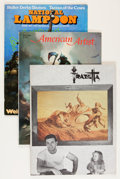 Magazines:Fanzine, Frank Frazetta Related Magazine Group (1970s-80s).... (Total: 8 Items)