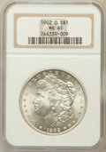 Morgan Dollars: , 1902-O $1 MS65 NGC. NGC Census: (6335/556). PCGS Population(4088/508). Mintage: 8,636,000. Numismedia Wsl. Price for probl...