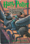 Books:Children's Books, J. K. Rowling. Harry Potter and the Prisoner of Azkaban. NewYork: Scholastic Press, [1999]. First American edition,...
