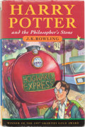 Books:Children's Books, J. K. Rowling. Harry Potter and the Philosopher's Stone.London: Bloomsbury, [1997]. First edition, third printing. ...