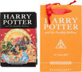 Books:Science Fiction & Fantasy, J. K. Rowling. Harry Potter and the Deathly Hallows. London:Bloomsbury, [2007]. First edition of the final Harry Po... (Total:2 Items)