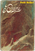 Books:Science Fiction & Fantasy, Frank Herbert. Dune. Philadelphia / New York: Chilton Books,[1965]. First edition. With a later sticker bookplate...