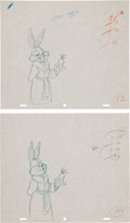 Animation Art:Production Drawing, The Bugs Bunny Road Runner Movie Production Drawing Group(Warner Bros, 1979).... (Total: 2 Original Art)