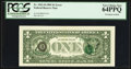 Error Notes:Third Printing on Reverse, Fr. 1921-D $1 1995 Federal Reserve Note. PCGS Very Choice New 64PPQ.. ...