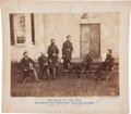 Miscellaneous:Ephemera, Alexander Gardner Photograph of General Meade and His Staff....