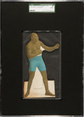 Boxing Cards:General, 1910 E125 American Caramel Jack Johnson SGC Authentic - Only Example Known. ...